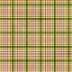 Plaid Paper - Orange, Blue & Green