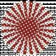 USA Polka Dot Flower