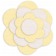 Sofia Felt Flower- Yellow