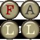 Fall Brad Letters