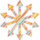 Belgium Grunge Arrow 05