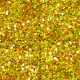 Belgium Seamless Glitter- Yellow 1