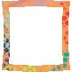 Challenged Warped Frame- Polka Dot