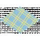 Challenged Sticker 01- Diamond Plaid
