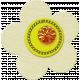 Taiwan Felt Flower 01i- White & Yellow