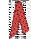 Taiwan Ribbon- Folded- Polka Dot