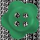Taiwan Button 57- Green Flower