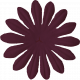 Change Flower- Maroon