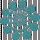 Change Felt Flower- Star Bubble Blue