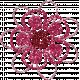 DSF June 2013 Blog Train- Glitter Flower