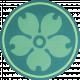 Vietnam Paper Coin- Green Flower