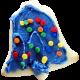 Christmas Cookies- Sprinkled Bell