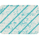 Dino Journal Card- Blue Diagonals