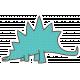 Dinosaurs Sticker- Stegosaurus