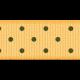 Ribbon 8- Yellow Polka Dots