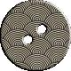Cambodia Button- Fan Pattern