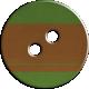 Cambodia Button- Green & Brown