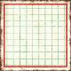 Cambodia Grid Tag- Square Small Grunge