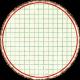 Cambodia Grid Tag- Circle Large Grunge