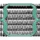 Cheer Bracket Frame- Green & Navy Blue