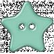Cheer Button- Star