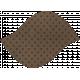 Discover Leaf Large- Brown & Polka Dot