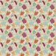 Malaysia Tan Floral Paper- Small
