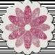 Malaysia Chipboard Flower 01- Purple