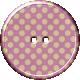 Malaysia Plastic Button- Light Purple
