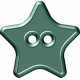 Malaysia Button- Teal Star
