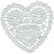 Heart Doily