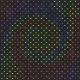 Neon- paper black dots