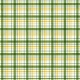 Plaid 21 Paper- Green, White & Yellow