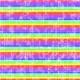 Neon- paper rainbow stripes