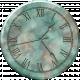 Clock- Blue Marbeled