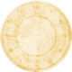 Clock- Light Tan