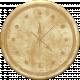 Clock- Tan