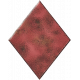 Metal Card Shapes- Diamond Red