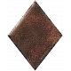 Metal Card Shapes- Diamond Brown & Red