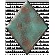 Metal Card Shapes- Diamond Blue