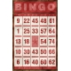 Bingo Card- Red