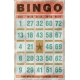 Bingo Card- Pink