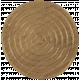 Game Piece Token- Tan