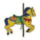 Carousel Horse- Tan