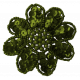 Olive Sequin Flower