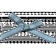 Khaki Scouts Bow- Blue