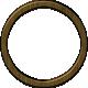 Khaki Scouts Circle Wooden Frame