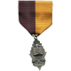 Khaki Scouts Decoration Medal On Ribbon