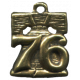 Khaki Scouts Medal '76 Bell