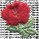 Khaki Scouts Patch- Rose